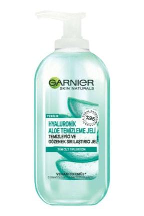 Garnier Hyaluronik Aloe Temizleme Jeli 200 Ml Ve Cilt Temizleme Fırçası 1