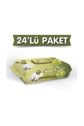 Sleepy Zeytinyağlı Islak Havlu 24X90 Lı 24 Paket 2160 Yaprak 0