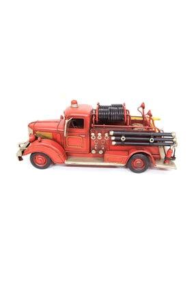 tekinhediyelik Dekoratif Metal Araba İtfaiye Aracı 3