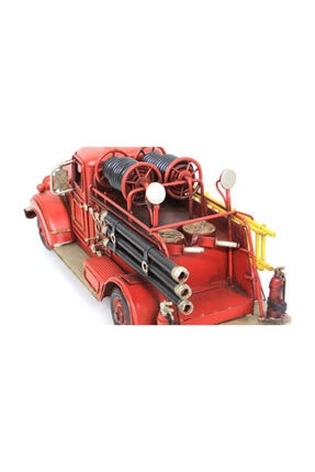 tekinhediyelik Dekoratif Metal Araba İtfaiye Aracı 4