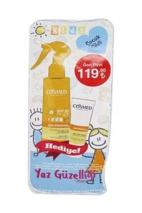 COSMED Sun Essential Kids SPF50 Spray Lotion 200 ml Set 8699292992654 1