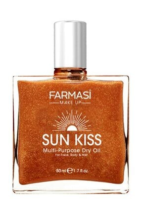 Farmasi Bronzlaştırıcı Işıltılı Yağ - Sun Kiss 50 ml 8690131113285 0