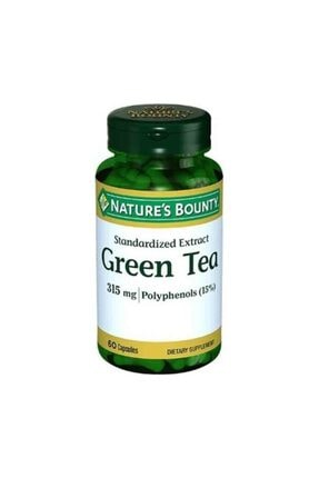 Natures Bounty Green Tea 315mg 60 Kapsül 0