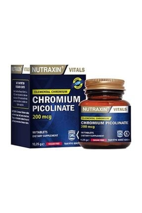Nutraxin Chromıum Pıcolına 90 0