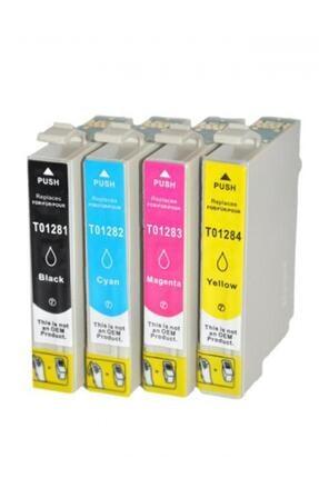 ekoset EPSON T1281-T1284 Uyumlu muadil kartuş 4 renk 0