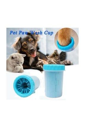 Keyfi Sepet Kedi Köpek Pati Yıkama Aparatı Pati Temizleme Kovası  Büyük 0