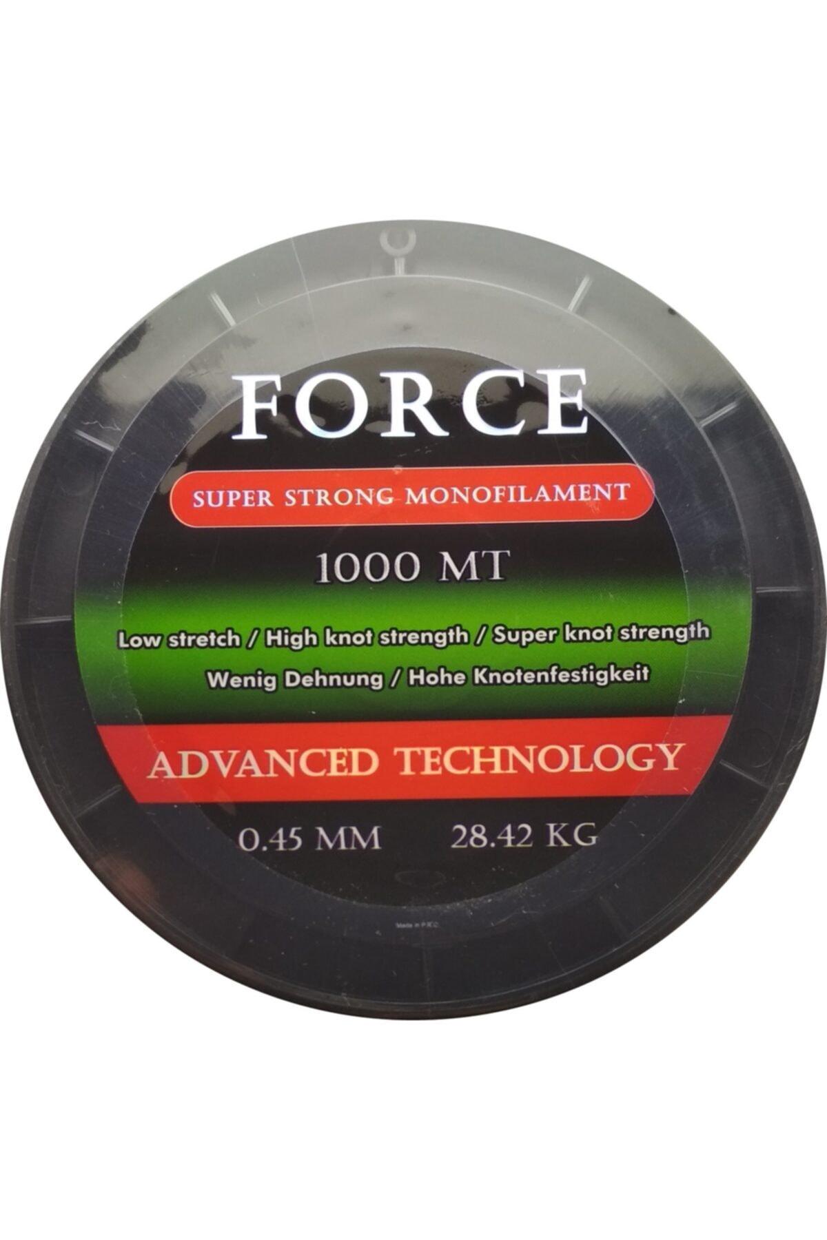 Effe Force Sazan Yayın Misinası 1000m 0.45mm 28.42Kg Yeşil