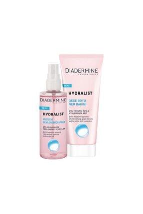 Diadermine Hydralist Mucizevi Nemlendirici 100 ml  + Hydralist gece Boyu Nem Bakımı 100 ml 0