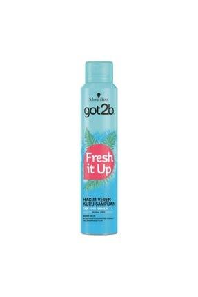 Schwarzkopf Got2b Fresh It Up Kuru Şampuan 200 ml 0