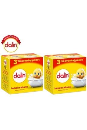 Dalin Bebek Sabunu 100Gr 6 Lı Set Hassas Ciltler İçin Kutu (2Pk*3) 1