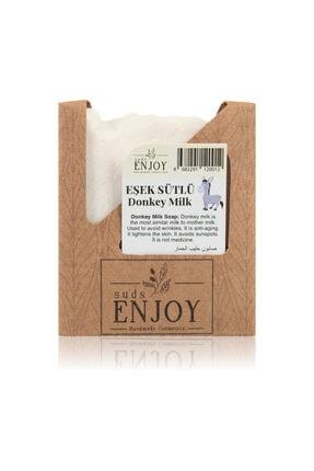 Enjoy Doğal Eşek Sütlü El Yapımı Yüz, Saç Ve Vücut Sabunu 100 GR 0
