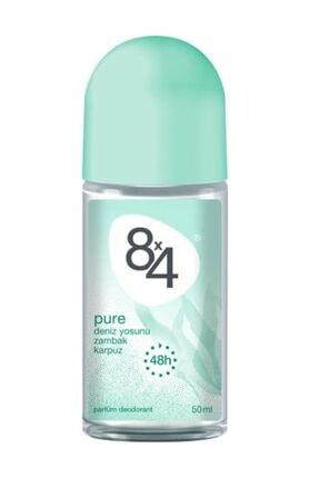 8x4 Pure Roll-On Deodorant 50Ml Kadın 0