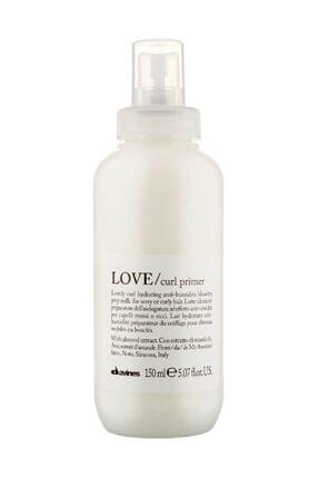 Davines Love Curl Primer Kıvırcık , Dalgalı Saçlar İçin Süt 150 ml 0