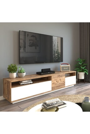 Yurudesign Future Tv Ünitesi Fr5-aw Çam-beyaz 0