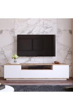 Yurudesign Future Tv Ünitesi Fr7-aw Çam-beyaz 1