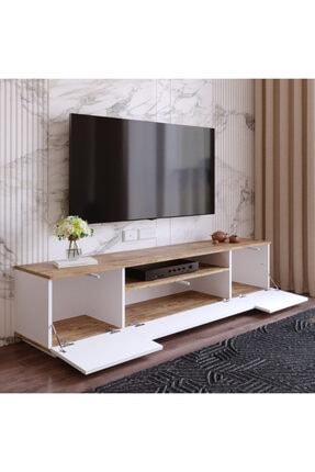 Yurudesign Future Tv Ünitesi Fr7-aw Çam-beyaz 4