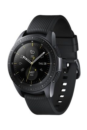 Samsung Galaxy Watch Siyah (42mm) (android Ve Iphone Uyumlu) Siyah - Sm-r810nzkatur ( Tr Garantili) 0