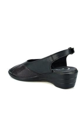 Polaris 103070.Z Siyah Kadın Sandalet 100508675 2