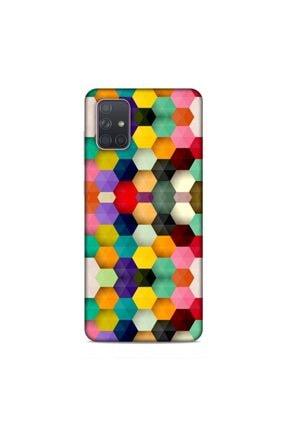 Pickcase Samsung Galaxy A71 Kılıf Desenli Arka Kapak Köşe Renkleri 0