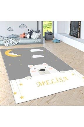 Estela Sevimli Uykucu Kutup Ayısı Desen Çocuk Odası Halısı 2