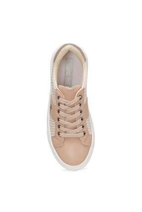 Nine West Funda Bej Kadın Havuz Taban Sneaker 1