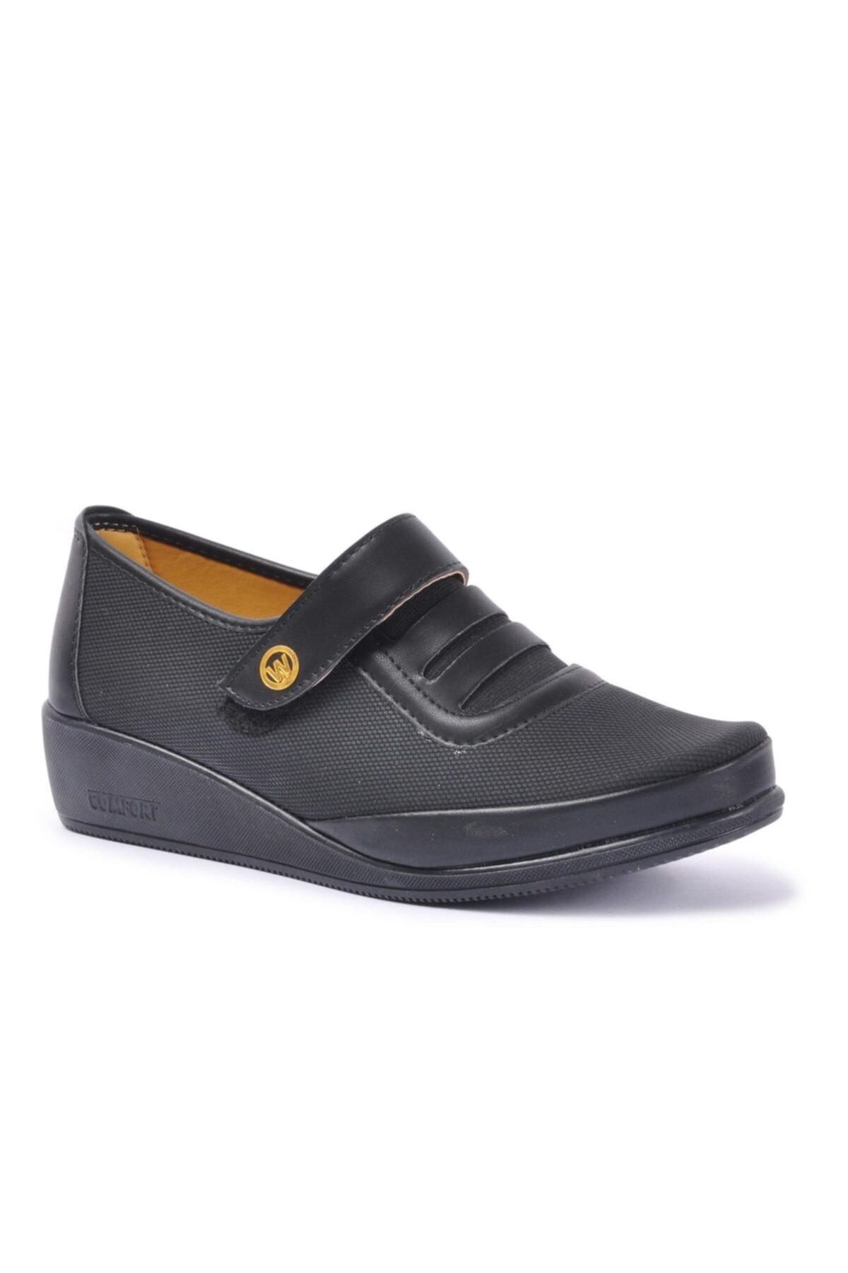 Wanetti Kadın Siyah Günlük Ayakkabı Cmf-303