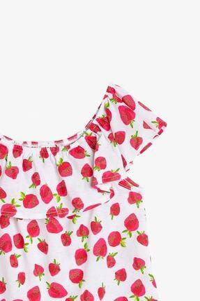 Koton Kız Çocuk Kırmızı T-Shirt 2