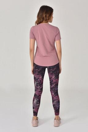 bilcee Pembe Büyük Beden Kadın T-Shirt GS-8131 2