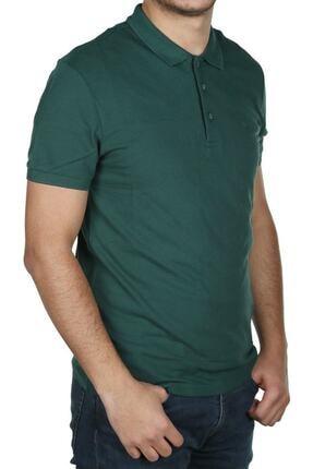 Cazador Erkek Yeşil Polo Yaka T Shirt 4613 1