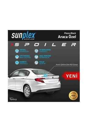 SUNPLEX Fiat Egea 2015-2020 Spoiler Bagaj Çıtası Piano Black Spo-2 006 101 4