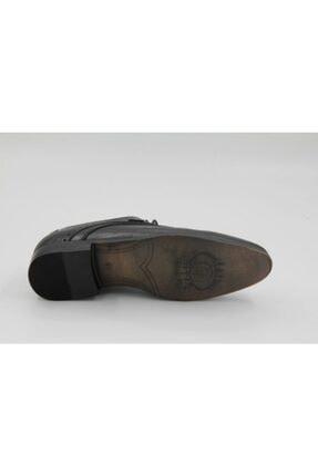Mercedes Erkek Siyah Bağcıklı Deri Klasik Ayakkabı 0002 2