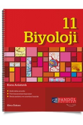 Pandül Yayınları 11.sınıf Biyoloji Kitabı (konu Anlatımlı) 0