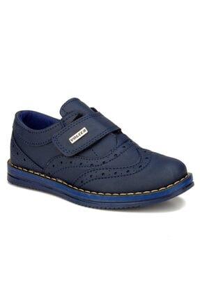 Siyah Lacivert Erkek Çocuk Günlük Ayakkabı Cırt Cırtlı Sünnet Düğün Okul Ayakkabısı PRA-2083421-014116