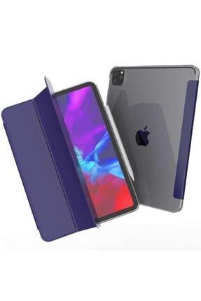 MOBAX Ipad Pro 11 2.nesil 2020 Kılıf Pu Deri Smart Case A2228 A2068 A2230 A2231 Lacivert 0
