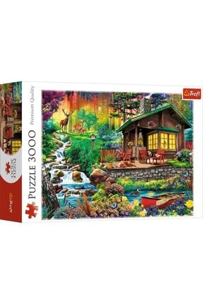 Trefl Puzzle Cabin In The Woods 3000 Parça 1