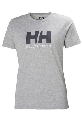 Helly Hansen Kadın Gri T-Shirt 0