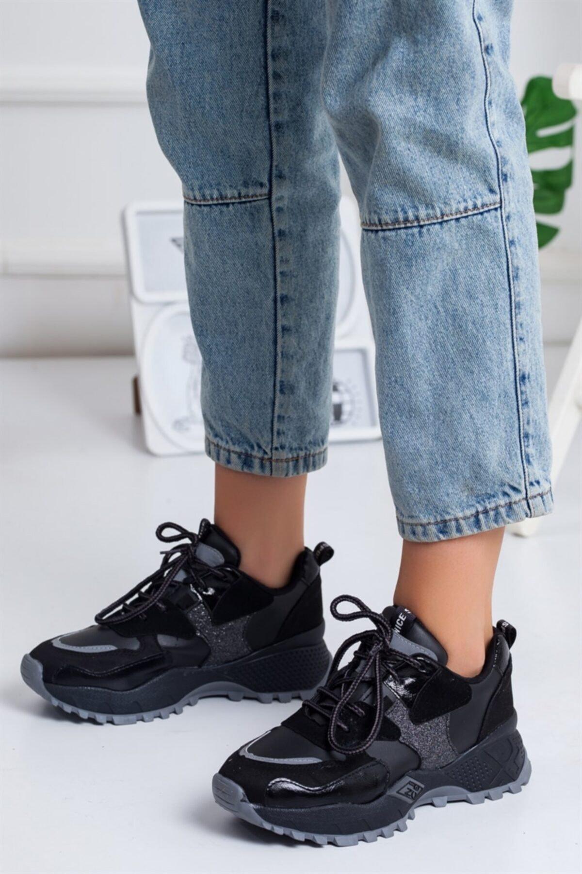 Lovita Shoes Nicci Kadın Sneakers Beyaz