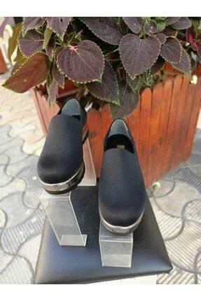 Kadın Siyah Babet Ayakkabı 22589654