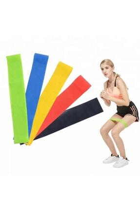 TechnoSmart 2 Li Farklı Dirençte Aerobik Bandı Pilates Squat Çalışma Lastiği 1