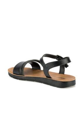 Polaris 315642.z Siyah Kadın Sandalet 2