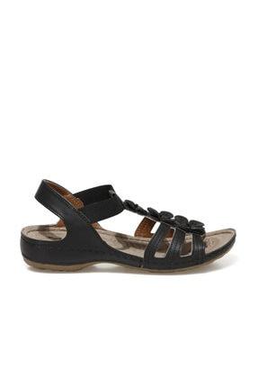 Polaris 91.157362.Z1FX Siyah Kadın Sandalet 101020325 1