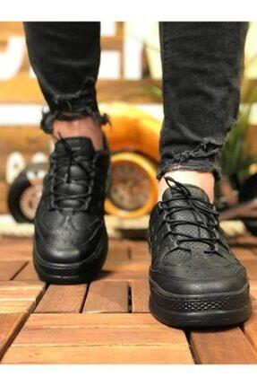 Marsetti Erkek Siyah Spor Ayakkabı 2