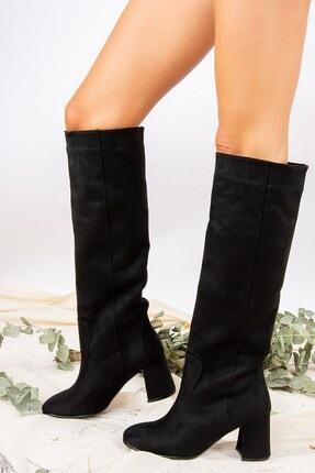 Fox Shoes Siyah Kadın Çizme J749198302 0