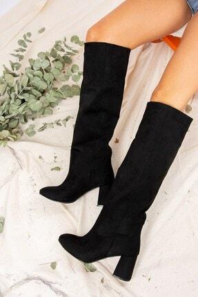 Fox Shoes Siyah Kadın Çizme J749198302 2