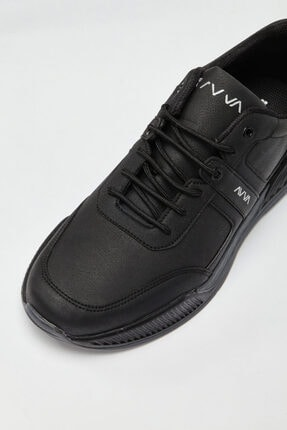 Avva Erkek Siyah Spor Ayakkabı A02y8016 2