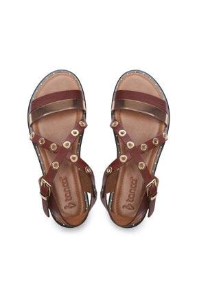 Kemal Tanca Kadın Derı Sandalet Sandalet 169 7282 Bn Sndlt 3