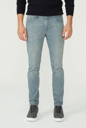 Avva Erkek Gri Skinny Fit Jean Pantolon A02y3501 0