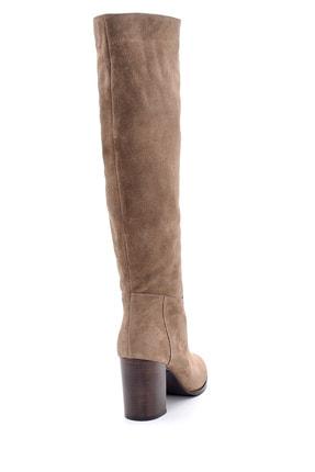 Derimod Kadın Süet Topuklu Çizme 4
