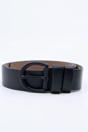 Shaka Siyah Tokalı Kemer Genişlik 3,3cm 0029 0