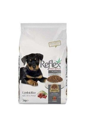 Reflex Kuzu Etli Ve Pirinçli Yavru Köpek Maması 3 Kg 0